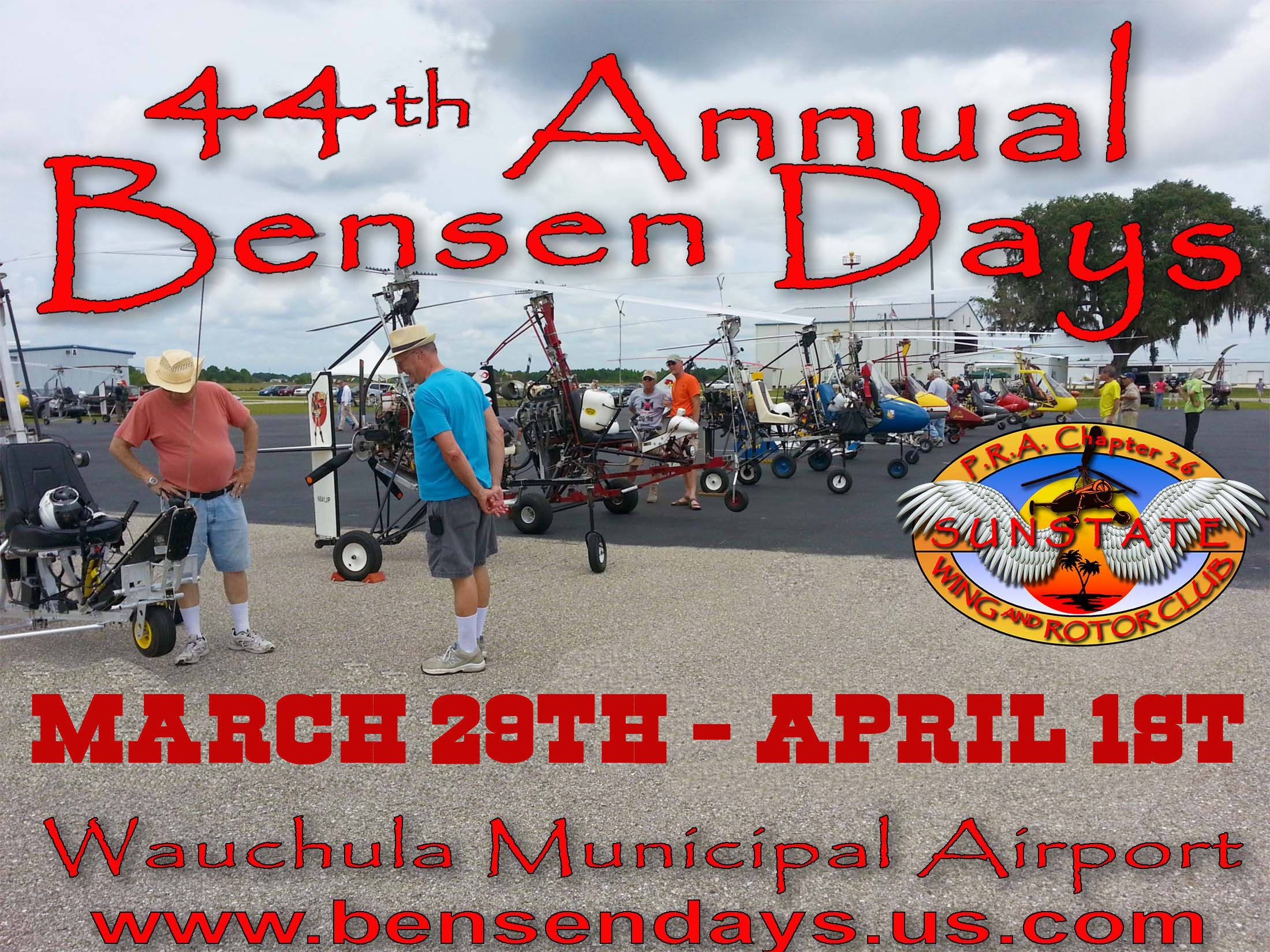 Bensen Days 2017 Flyer